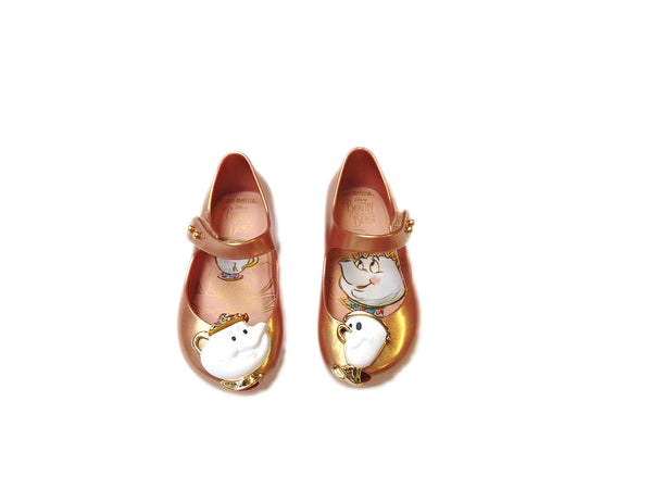 Mini Melissa Mrs. Potts and Chip Shoes