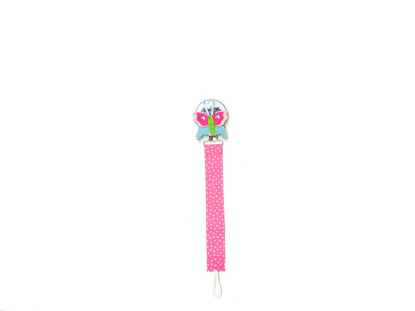Mudpie Pacifier Clip - Butterfly Theme Pacifier Clip