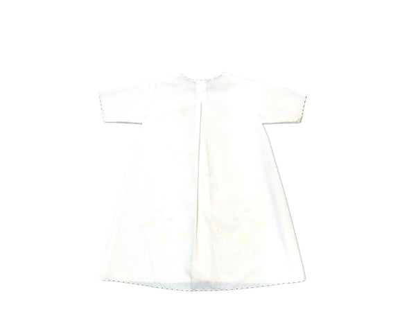 Auraluz - Soft Cotton Duck Embroidery Gown
