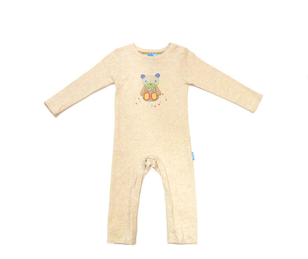 Albetta - Cotton Bear Applique Romper