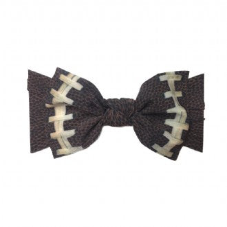 Baby Bling Football Print Headband