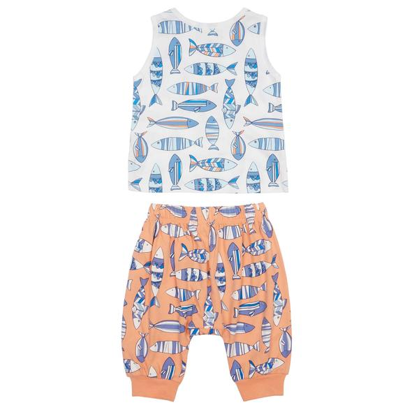 Peek Summer Fish Print Set