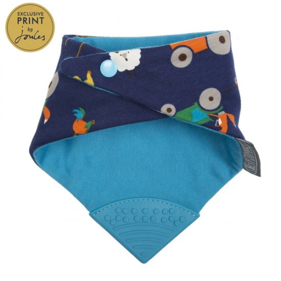 Neckerchew Farmer Fox Print Bib