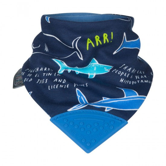 Neckerchew Shark Bib