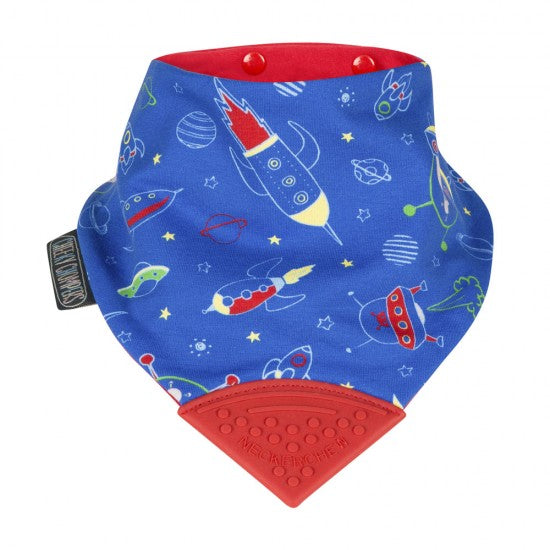 Neckerchew Space Print Bib