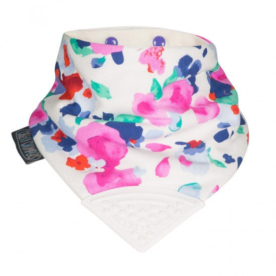 Neckerchew Floral Bib