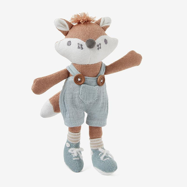Elegant Baby Mini Felix Fox Knit Toy
