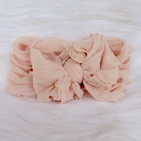 In Awe Couture Blush Pink Headband