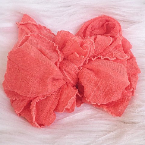 In Awe Couture Coral Headband