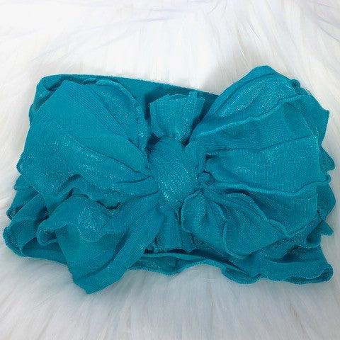 In Awe Couture Teal Headband