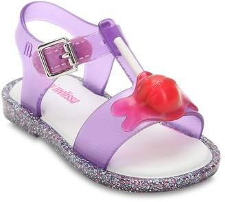 Mini Melissa Purple Lollipop Sandal