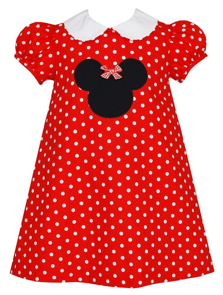 Claire & Charlie Minnie Polka Dot Dress