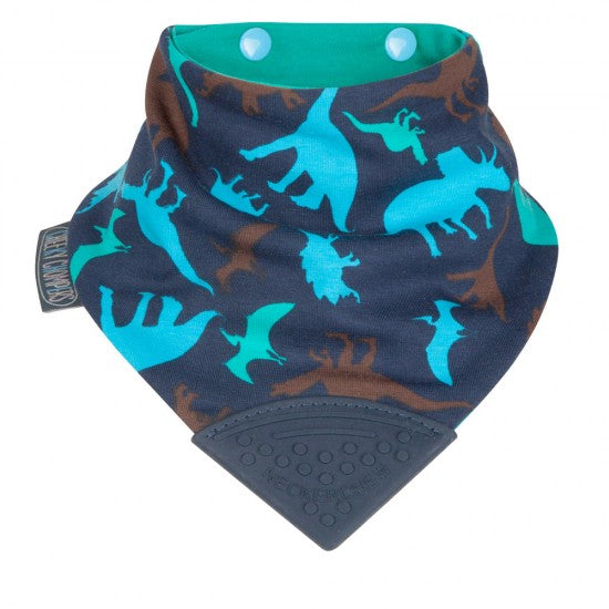 Neckerchew Dinosaur Print Bib