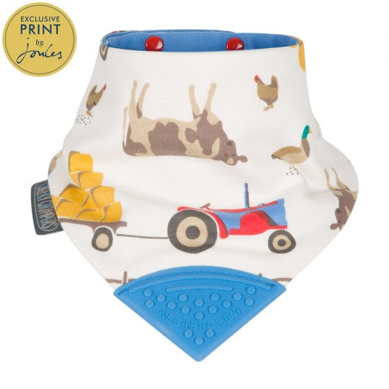 Neckerchew Farm Print Bib