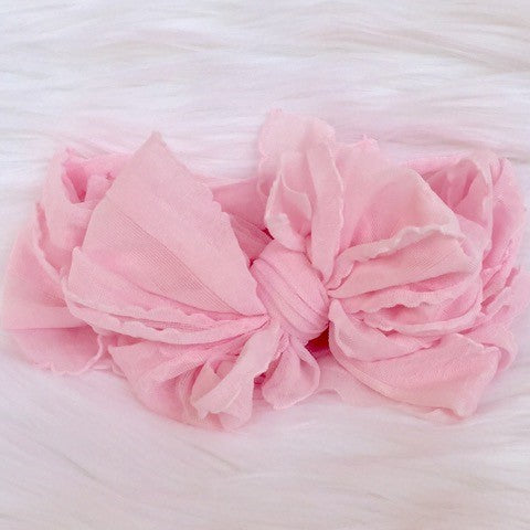 In Awe Couture Ballet Pink Headband