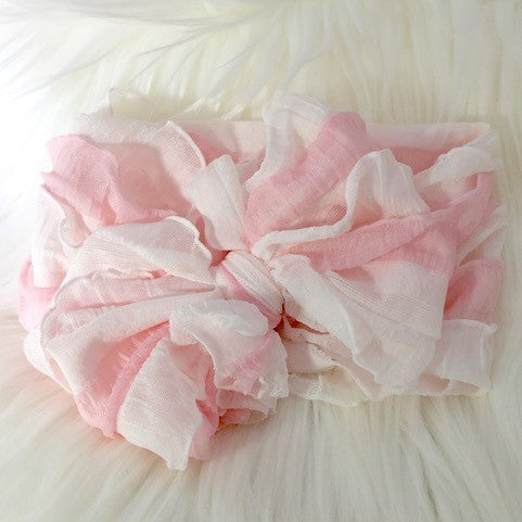 In Awe Couture Pink/White Headband