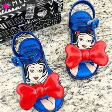 Mini Melissa Snow White Sandal