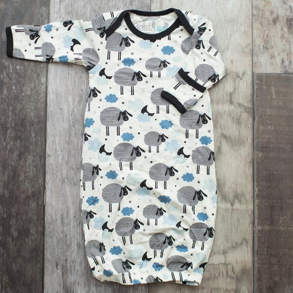 Bestaroo Black Sheep Print Gown (Boy)