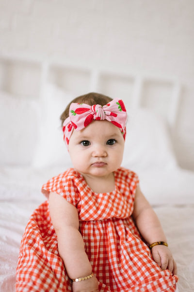Baby Bling Headband-Very Berry