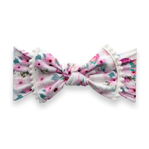 Baby Bling Headband-Flamingo Floral