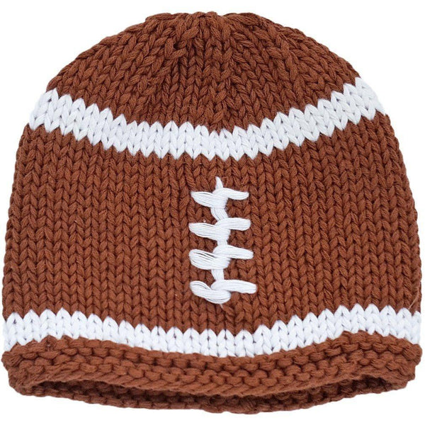 Huggalugs Knit Football Beanie