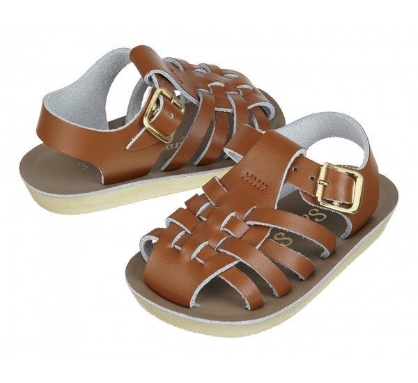 "Sun Sans ""Sailor"" Tan Sandals"