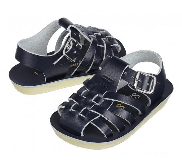 "Sun San ""Sailor"" Navy Sandal"