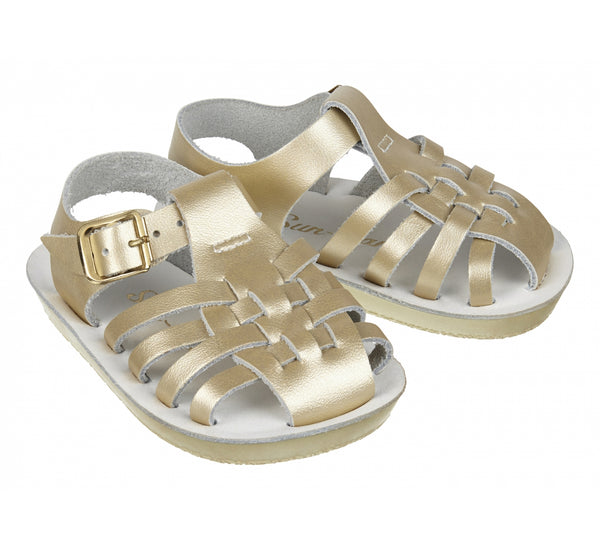 "Sun San ""Sailor"" Rose Gold Sandal"