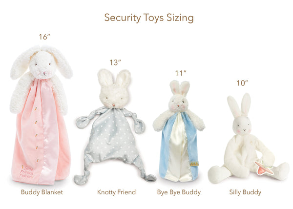 Bunnies by the Bay Bunny Baby Blankie (Blue)
