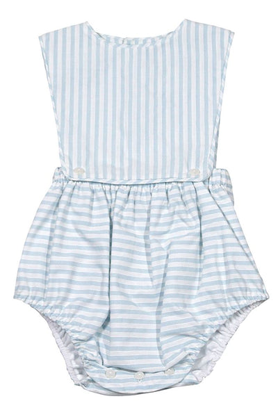 Sophie & Lucas Baby Boy Blue Striped Bubble