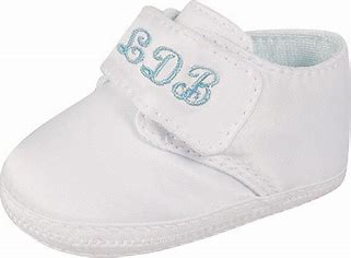 Baby Deer White Satin Oxford