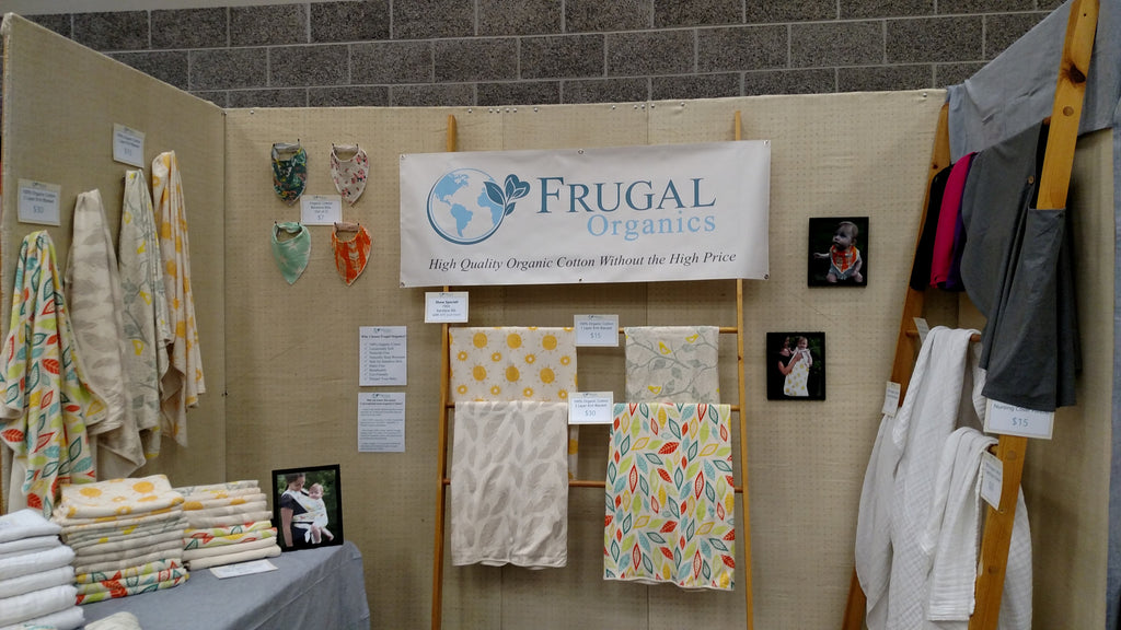 Official Launch of Frugal Organics and Our First Trade Show!