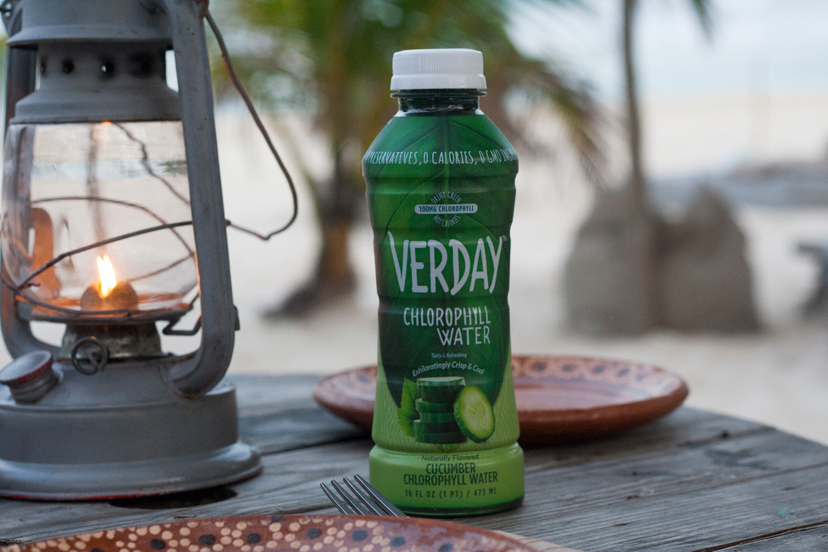 Verday launches new deliciously-tropical, 0 calorie Coconut Chlorophyll Water