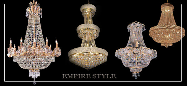 Gallery chandeliers empire style aloadofball Choice Image