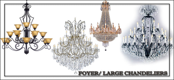 Foyer / Large Chandeliers