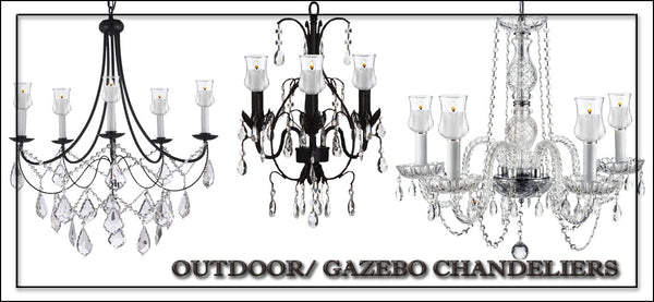Outdoor/Gazebo Chandeliers