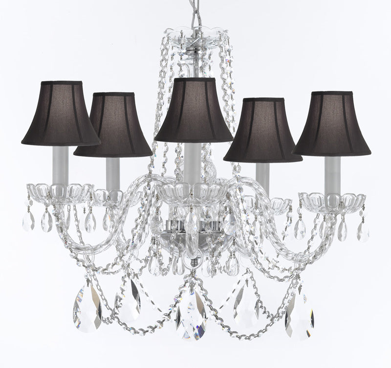 Details about Murano Venetian Style Chandelier Crystal Lighting Ceiling  Lamp for Dining Room