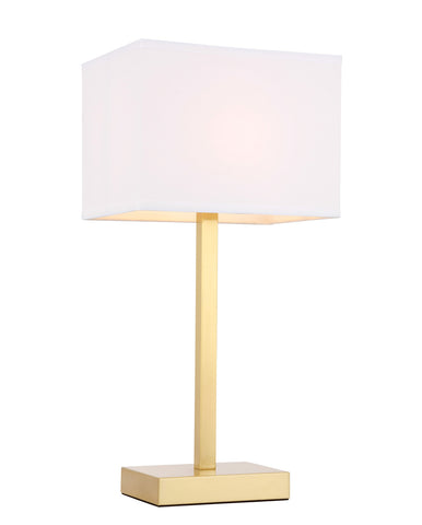 ZC121-TL3042BR - Regency Decor: Katherina 1 light Brass Table Lamp