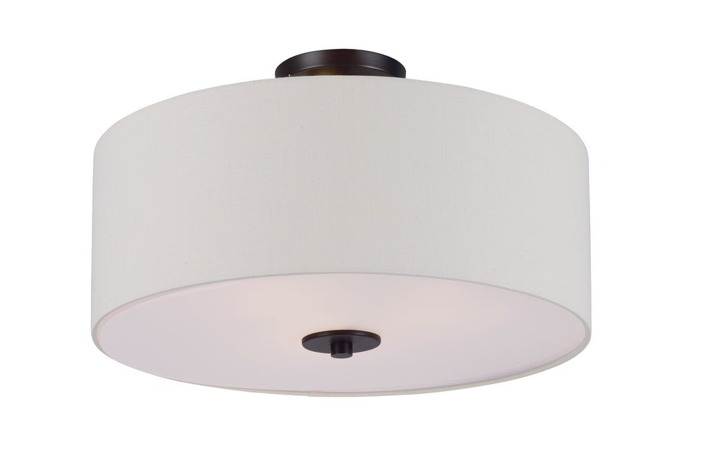 Bongo 3-Light Semi-Flush Mount Oil Rubbed Bronze - C157-10014OMOI