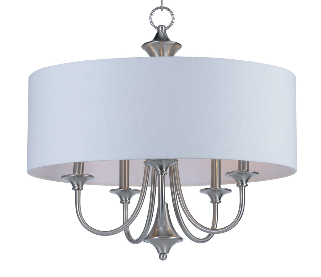 Bongo 5-Light Pendant Satin Nickel - C157-10015WLSN