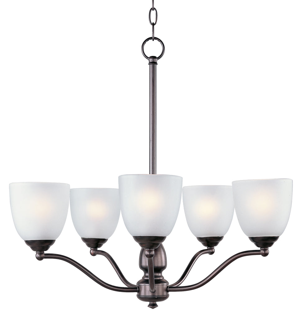 Stefan 5-Light Chandelier Oil Rubbed Bronze - C157-10065FTOI