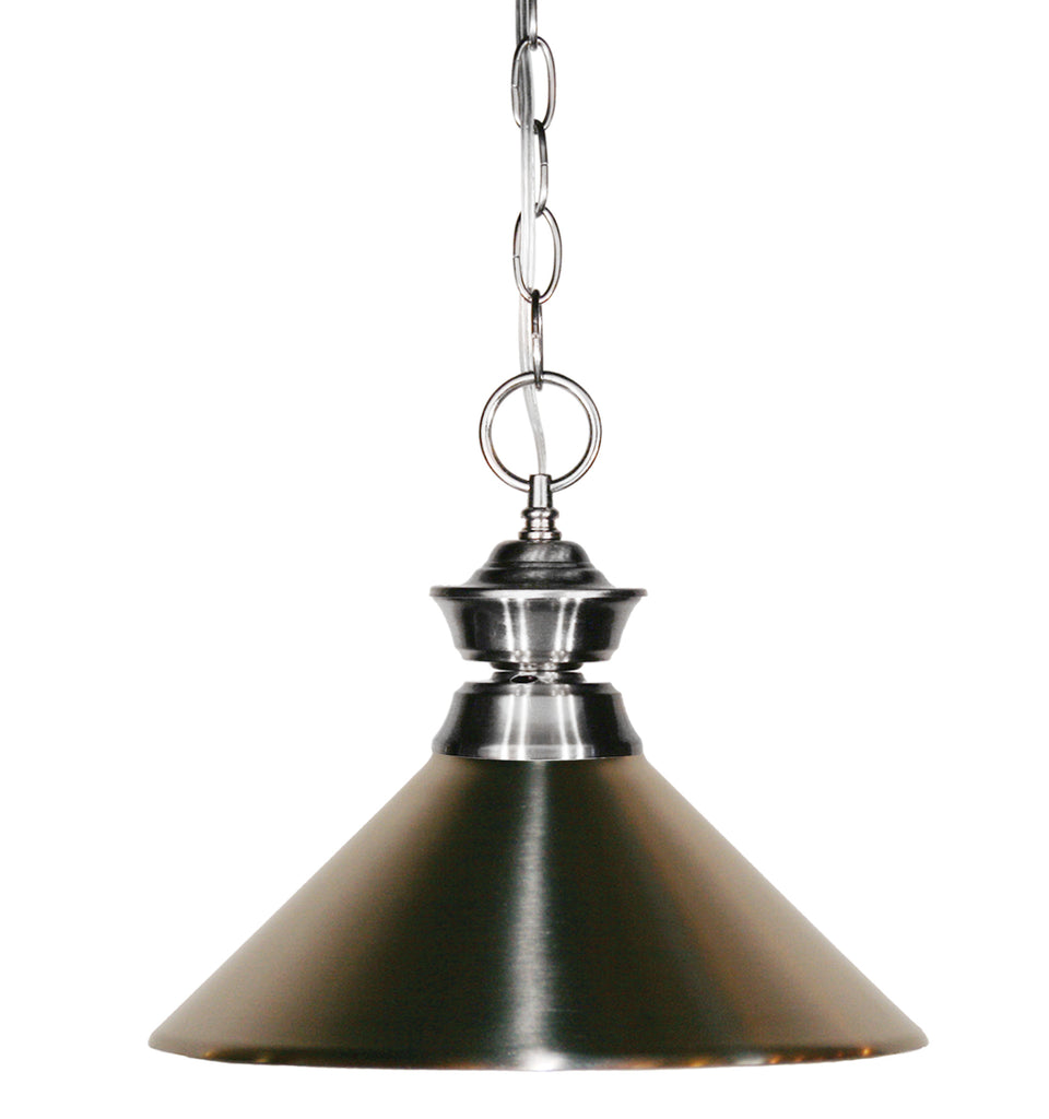 Zlite 1 Light Pendant - C161-100701BN-MBN
