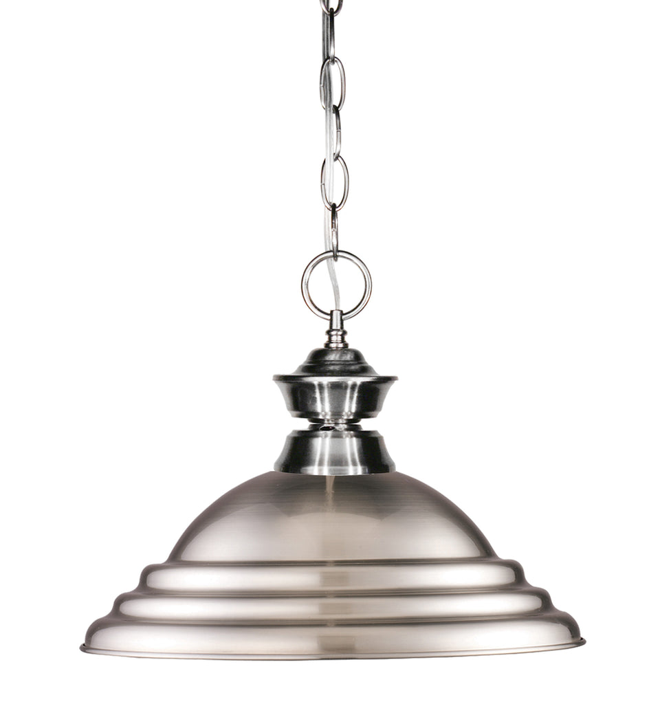 Zlite 1 Light Pendant - C161-100701BN-SBN