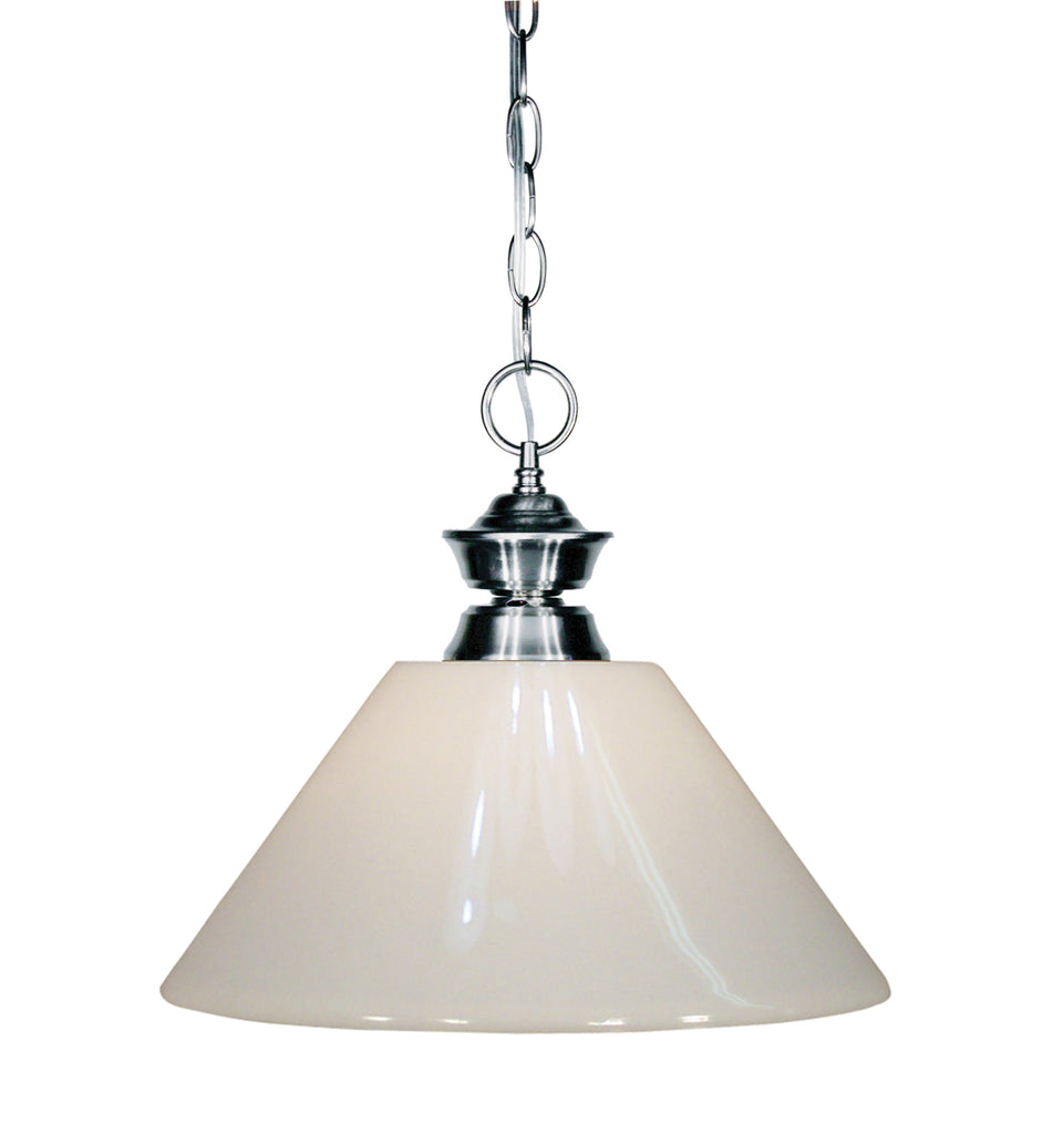 Zlite 1 Light Pendant - C161-100701GM-PWH