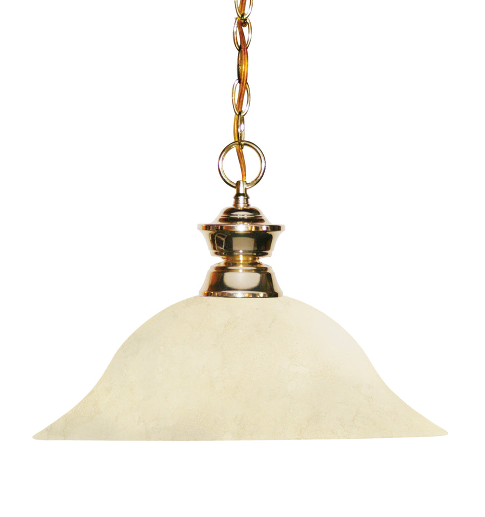 Zlite 1 Light Pendant - C161-100701PB-GM16