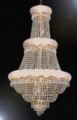 "French Empire Crystal Chandelier Lighting H50"" X W30"" - Go-A93-448/21"