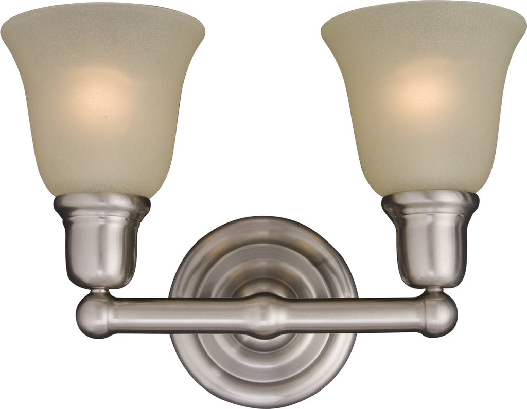 Bel Air 2-Light Bath Vanity Satin Nickel - C157-11087SVSN