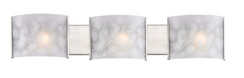 Zlite 3 Light Semi-Flush Mount - C161-1122-3V-BN