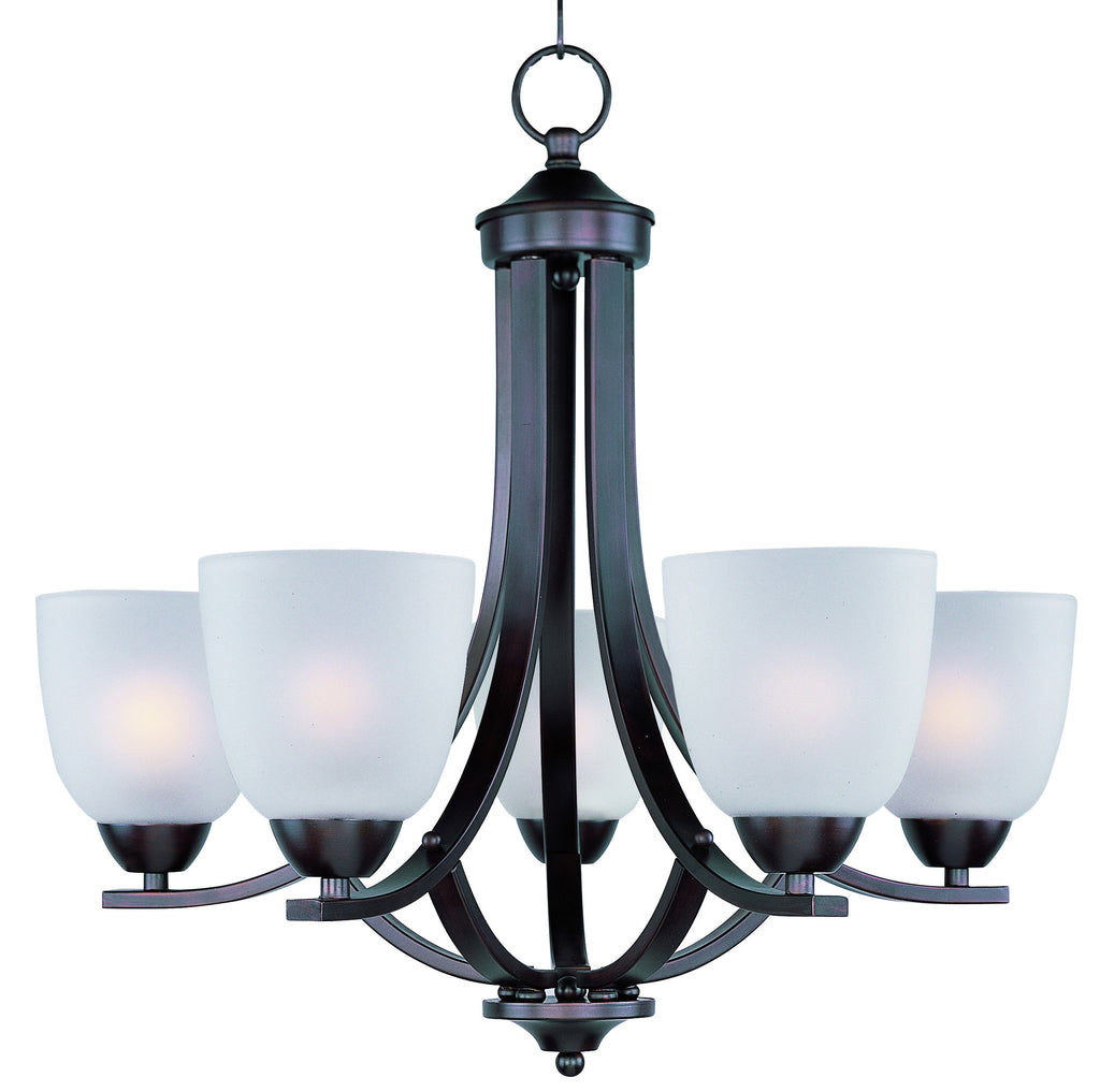 Axis 5-Light Chandelier Oil Rubbed Bronze - C157-11225FTOI