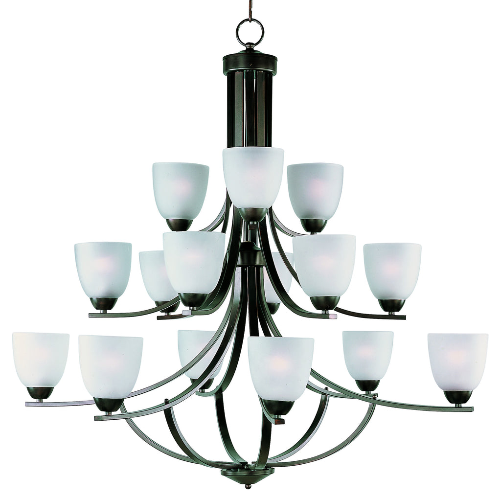 Axis 15-Light Chandelier Oil Rubbed Bronze - C157-11228FTOI